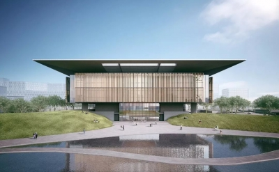 济宁市图书馆新馆2月1日起试运行 5月1日正式开放