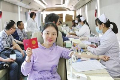 济宁临床用血100%来自自愿无偿献血