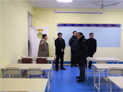 济宁市书协领导到济宁广电书画院走访调研