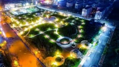 终于来啦!微山县阳光公园正式开园迎客