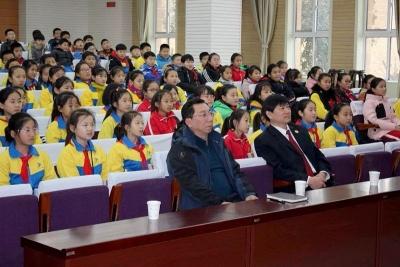 济宁:法治教育进校园 拒绝校园欺凌 从学法开始