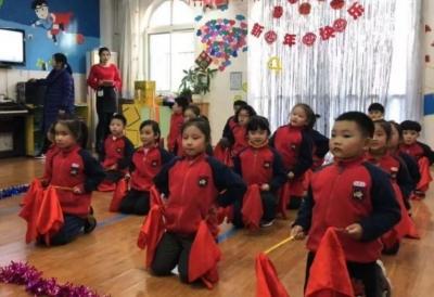 """济宁长安幼儿园举行""""庆元旦 迎新年""""联欢会"""