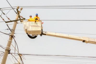 嘉祥县供电公司:供电应急演练  确保春节用电安全