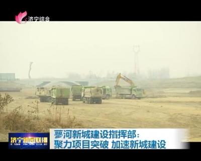 蓼河新城建设指挥部:聚力项目突破 加速新城建设