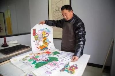 穷人怎么挣钱木版年画——寻找儿时的记忆