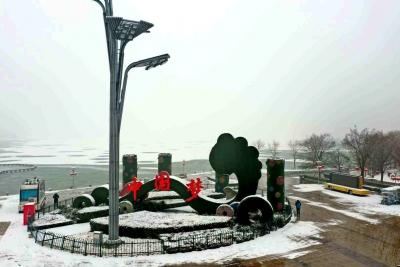 """太白湖景区邀您来赏风雪胜景,真的是美""""醉""""了!"""