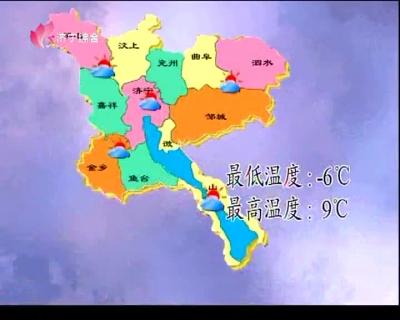 天气预报  —  20190121