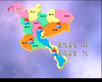 天气预报  —  20190120