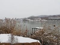 飞雪迎新春,雪中的水泊梁山竟然如此......