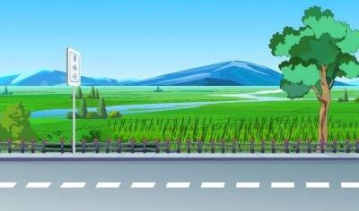 """水泊梁山南方4公里的""""扶贫路""""修通了!农夫致富有奔头"""