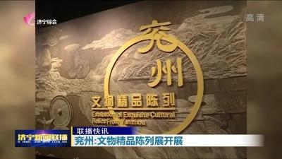 兖州:文物精品陈列展开展