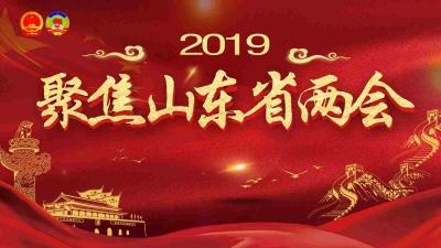 聚焦2019山东省两会
