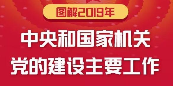 一图速览2019年中央和国家机关党的建设主要工作
