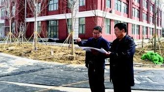 柳杨小学主体教学楼基本完工  有望五一启用