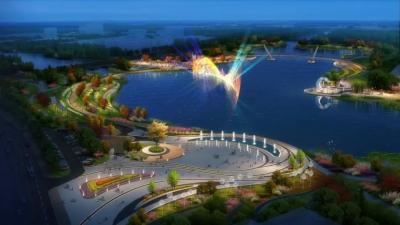 鴻雁湖項目最新進展!正進行地形塑造施工