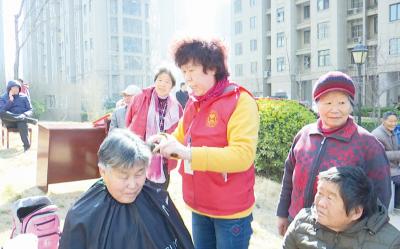 社区送温暖,咱济宁又多一支慈善义工团