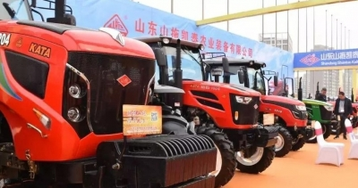 不止有挖掘機!兗州5家農機企業亮相山東裝備博覽會