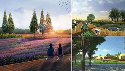 九曲湖生態濕地、白衣尚書紀念館......這11個重點項目開工