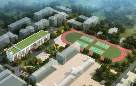 高新区南营小学主体工程竣工 9月份投入使用