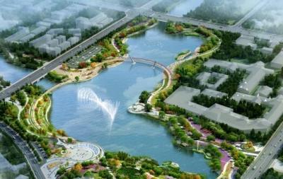 2020年9月,济宁高新区再添一处亲水休闲好去处