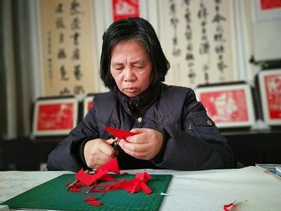 当剪纸遇上孔孟文化,惊艳了!