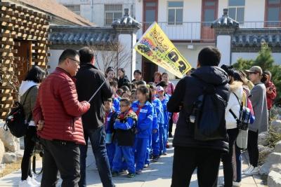 """有一种春游叫做""""研学游"""" 附小师生与曲阜三孔春日有约!"""