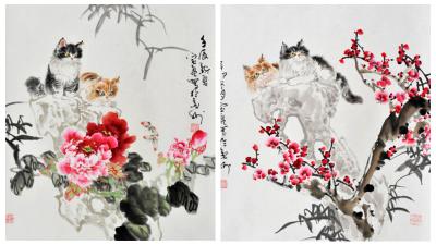春风耄耋绘小猫——访著名画家李宝亮