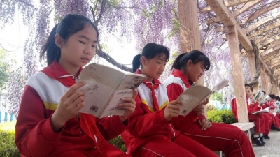 汶上县郭楼镇明德小学:诵读文化经典 创建书香校园