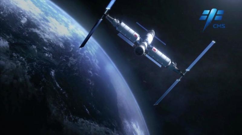 """中国空间站来啦!100秒看懂""""天宫"""""""