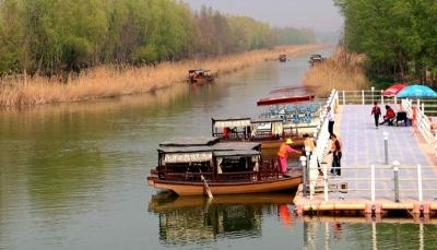 春和景明,太白湖景區迎清明小長假首日小高峰