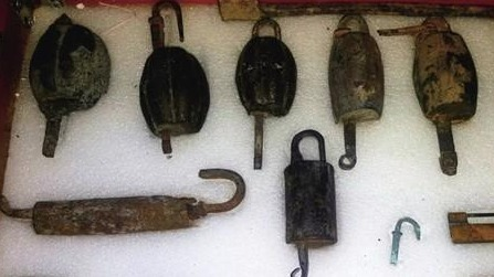 """流淌在""""锁""""里的运河文化 一把古锁,一户人家,一段历史"""