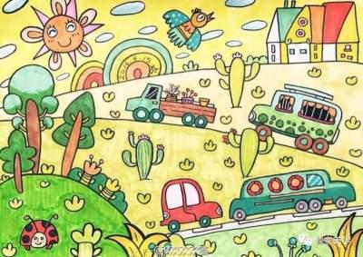 【济宁广电书画院】家长必读!!儿童绘画心理学:七大表现规律