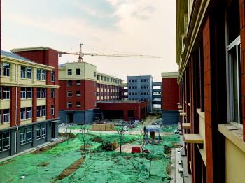 高新區第五中學改擴建項目中學部今秋啟用