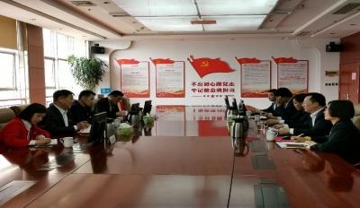 濟寧市委副秘書長、市直機關工委書記張憲常一行到濟寧移動公司調研指導工作