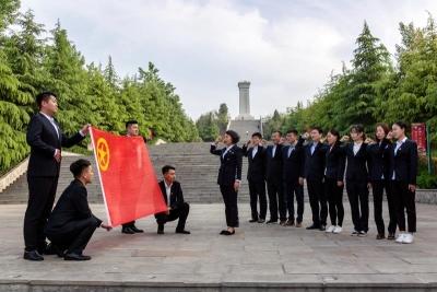 """嘉祥县供电公司开展""""青春心向党  建功新时代""""主题教育活动"""