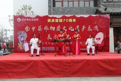 新时代文明实践|金乡非遗展演亮绝活 传统文化显魅力