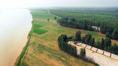 """三個產業園、兩個功能區、一條觀光帶 黃河灘區鄉村振興示範區""""畫藍圖"""""""