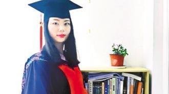 一度担心毕不了业 26岁的她成中国第一个写作学博士