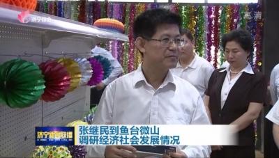 張繼民調研魚台微山扶貧、鄉村振興、項目建設等工作情況