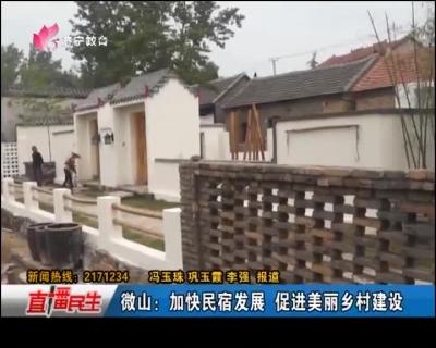 微山:加快民宿发展 促进美丽乡村建设