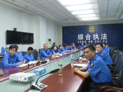 济宁市城市管理局机关组织开展微党课轮讲比赛