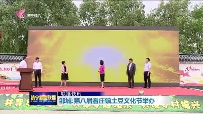 邹城:第八届看庄镇土豆文化节举办