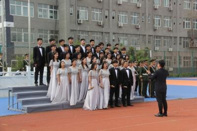 """北大培文濟寧二中舉行""""創新中國 就在你我""""主題教育活動"""