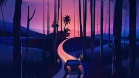 《夜色就是最好的屏保》