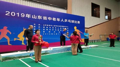 牛!这位老爷子勇夺济宁50年来省乒赛首枚金牌