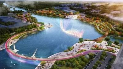 鸿雁湖项目新进展!湖底施工完成 湖体近期注水