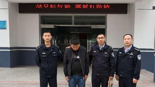 梁山一男子耍酒瘋,打110辱罵接警員被拘留5天