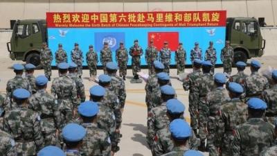 欢迎回家!中国第六批赴马里维和部队第一梯队205名官兵凯旋