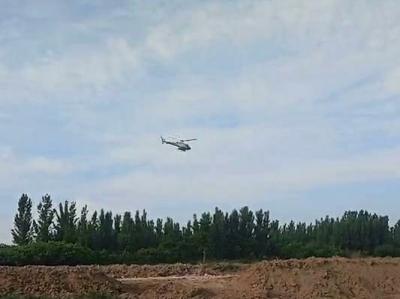金鄉:開展林業有害生物飛防