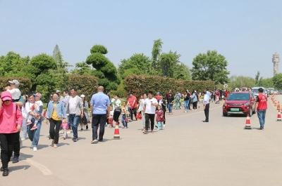 济宁这个景区一天接待游客5万人次 你去了吗?